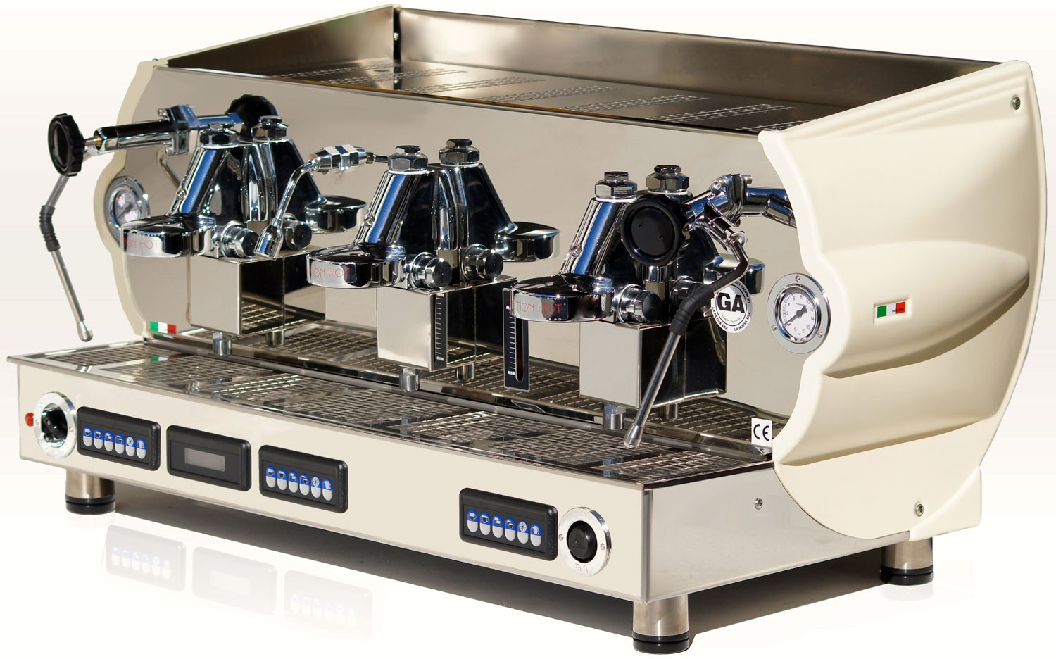 La NUova Era Altea is a commercial espresso coffee machine for large volume cafe's