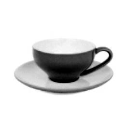 Black Cappuccino Cup Set