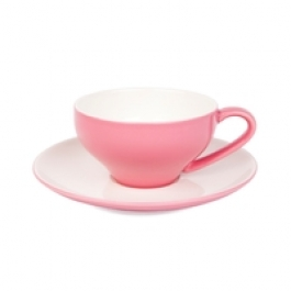 Pink Cappuccino Cup Set