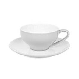 White Cappuccino Cup Set