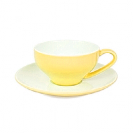 Yellow Cappuccino Cup Set